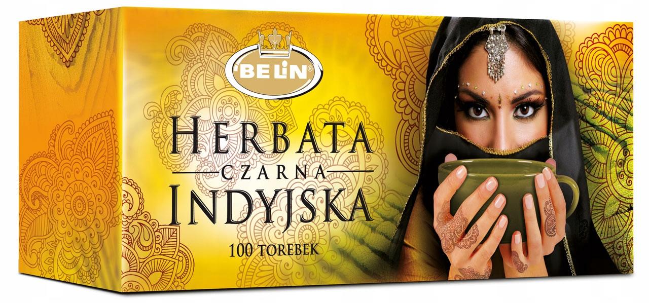 BELIN Индийский черный чай 100 пакетиков