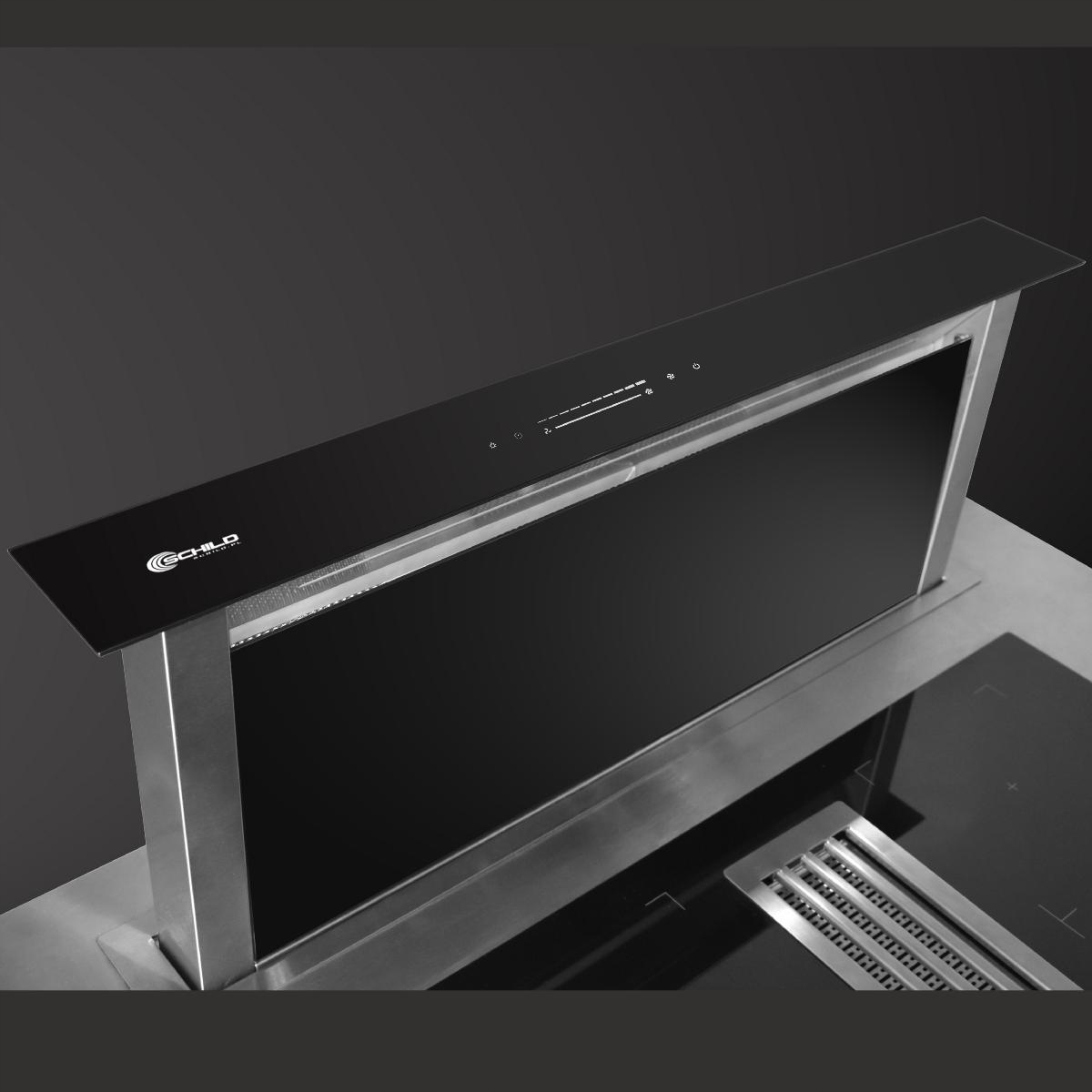 Витяжка для кухні, висувна стільниця 90 SCHILD Модель DK900