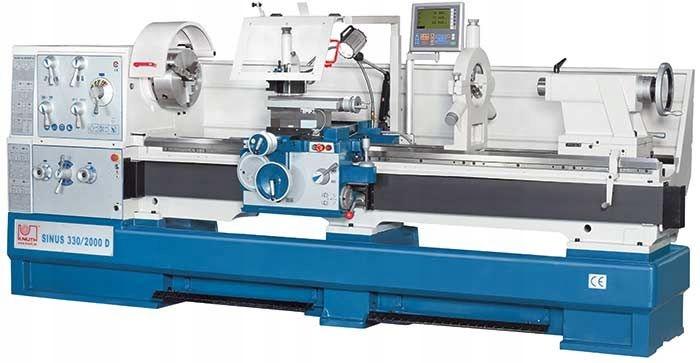 KNUTH Sinus 400/2000 D Tokarka max. 200x80 cm