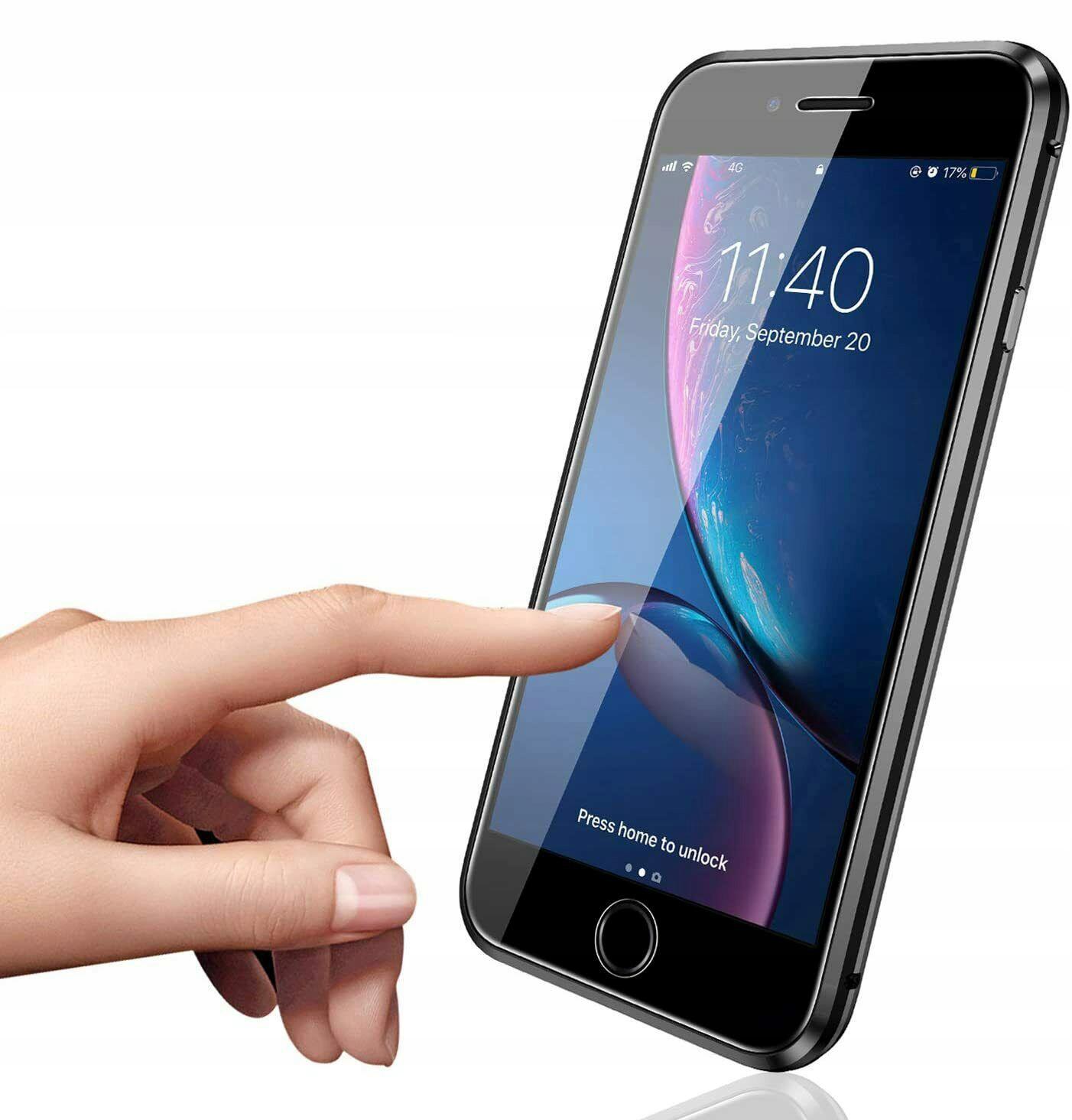 Etui Magnetyczne 360° do iPhone 7 Plus / 8 Plus Przeznaczenie Apple
