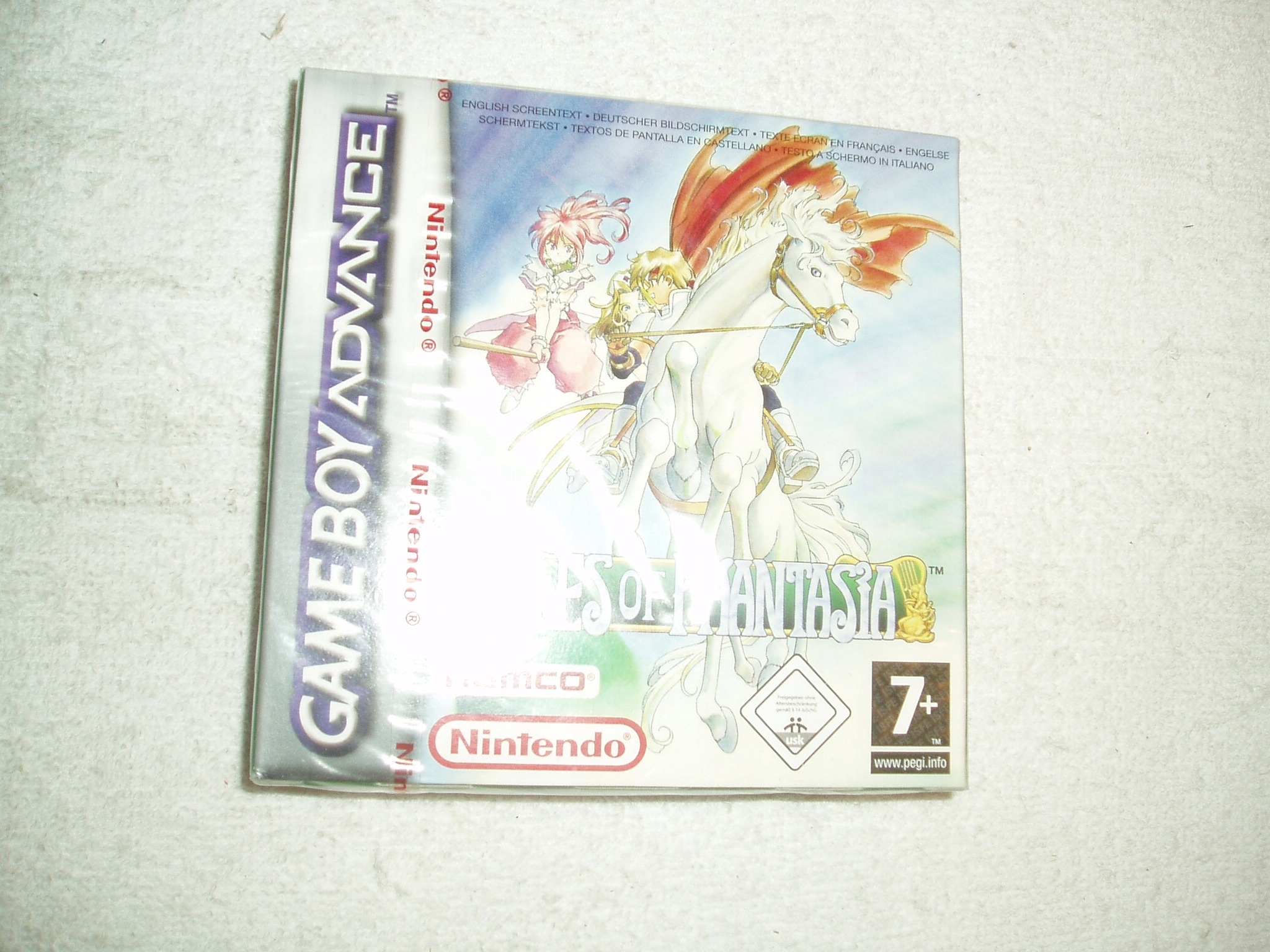 GBA gameboy vopred Tales Of Phantasia
