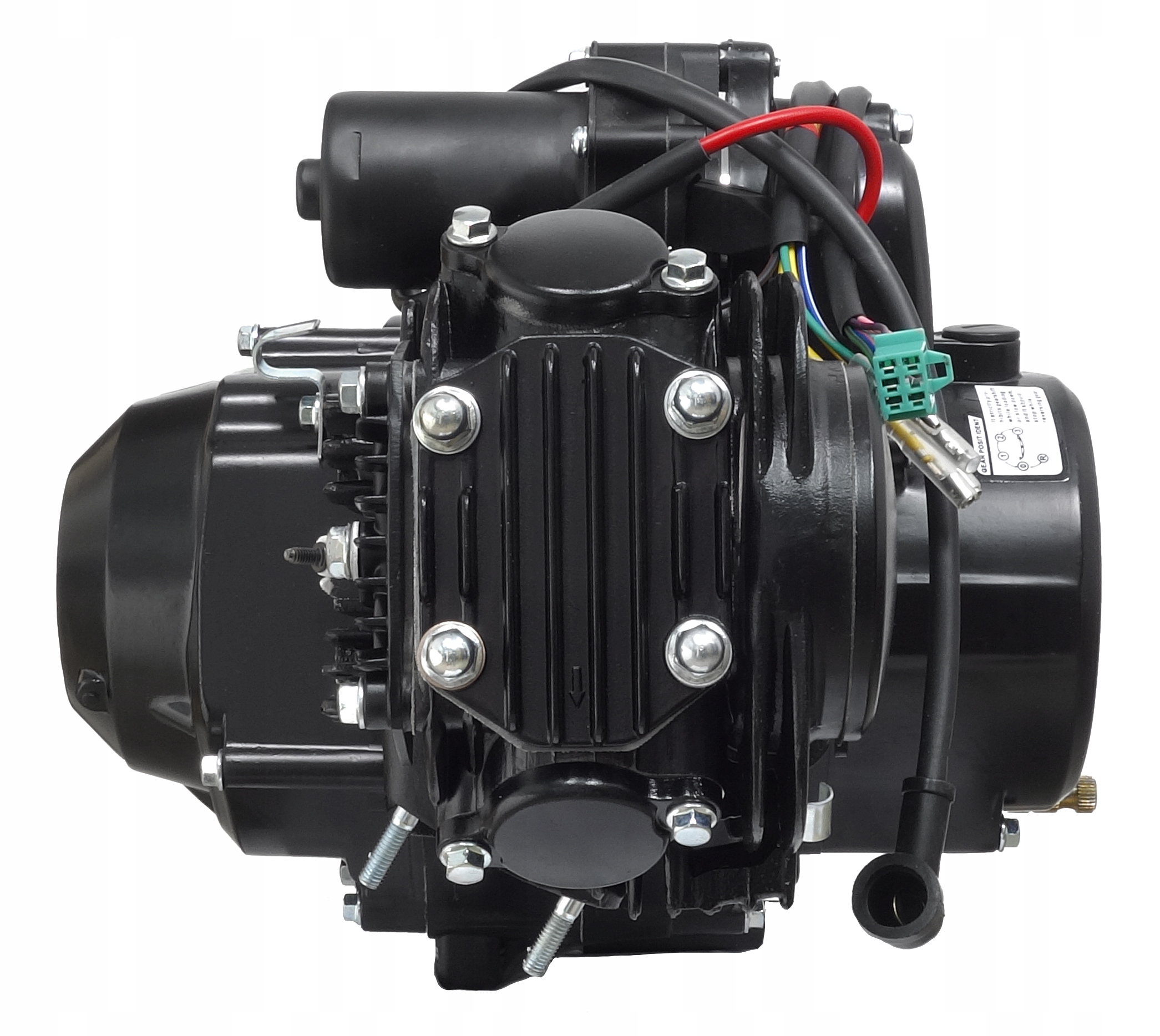 Двигатель 1+ 1 atv quad 125 kxd bombardier eagle force, фото 1