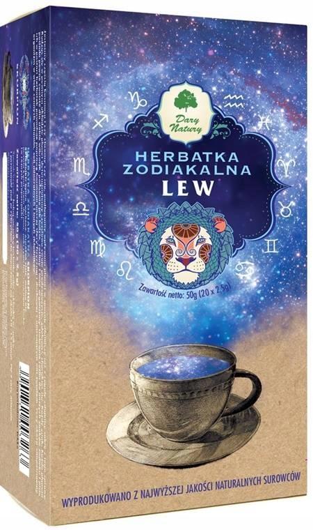 Zodiakalna HERBATKA LEW Herbata Dary Natury zioła