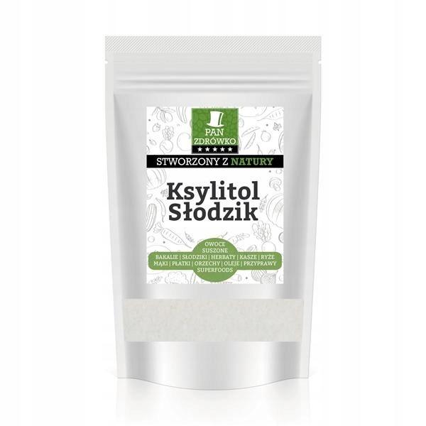 Ksylitol Cukier brzozowy Słodzik 1kg Pan Zdrówko