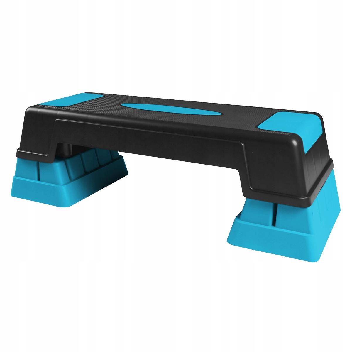 Aerobik step BLUE 3 fitness úrovne 100 KG