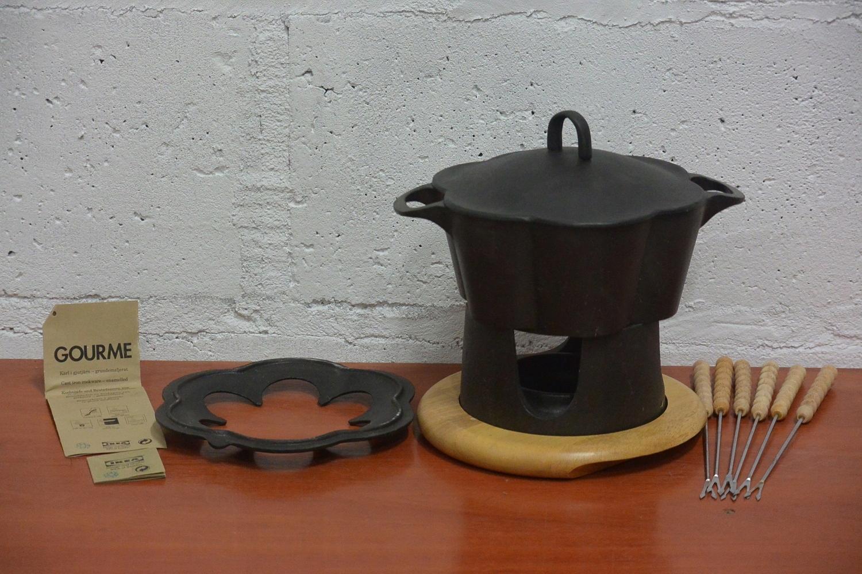 Żeliwny zestaw do fondue Gourme IKEA
