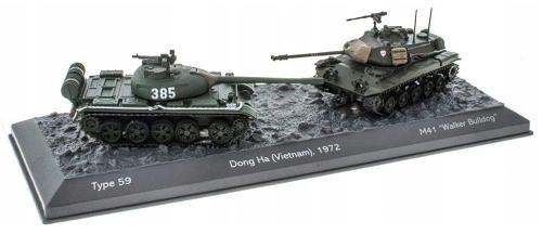 Type 59 vs M41 Walker Bulldog - 1:72