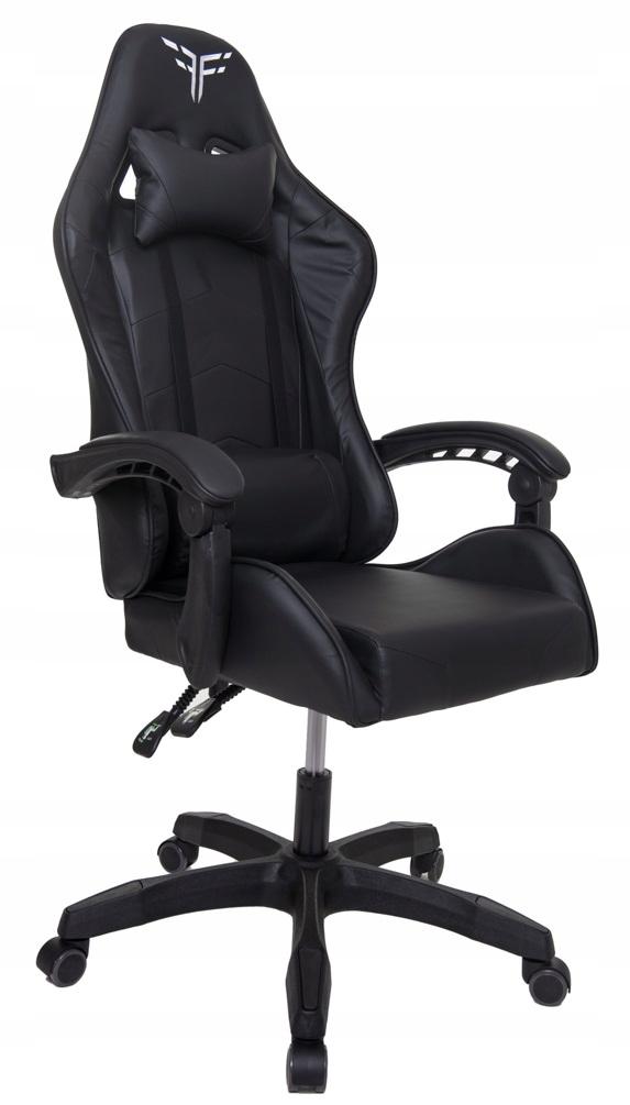 Поворотное игровое офисное кресло-ковшик Ширина мебели 66 см.