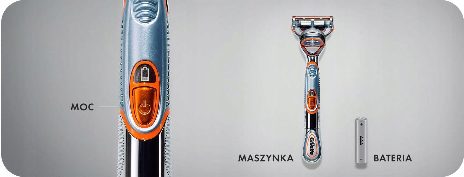 Купить ZESTAW DO GOLENIA F1 1UP GILLETTE FUSION POWER 5 на Otpravka - цены и фото - доставка из Польши и стран Европы в Украину.