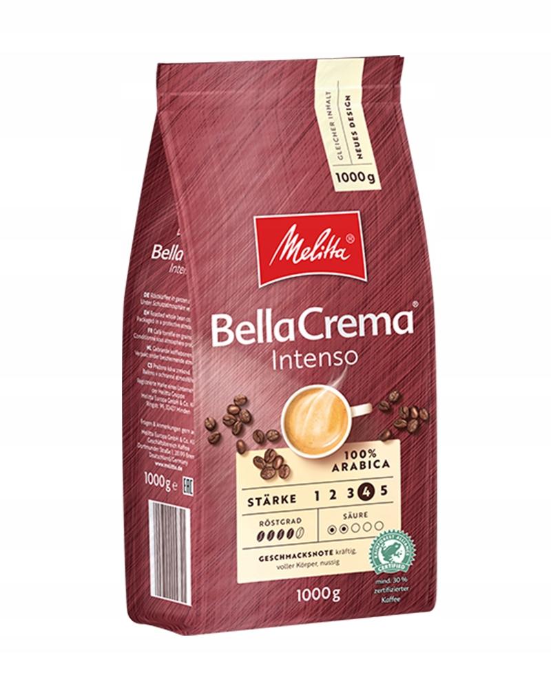 Кофе в зернах MELITTA BELLACREMA INTENSO 1 кг