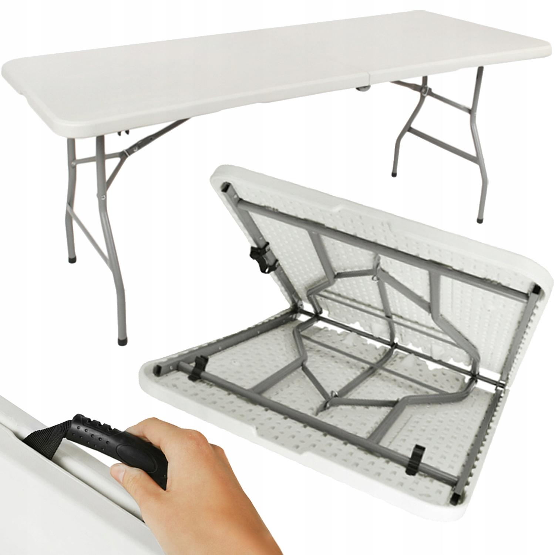 Складной садовый обеденный стол 180см на 8 человек