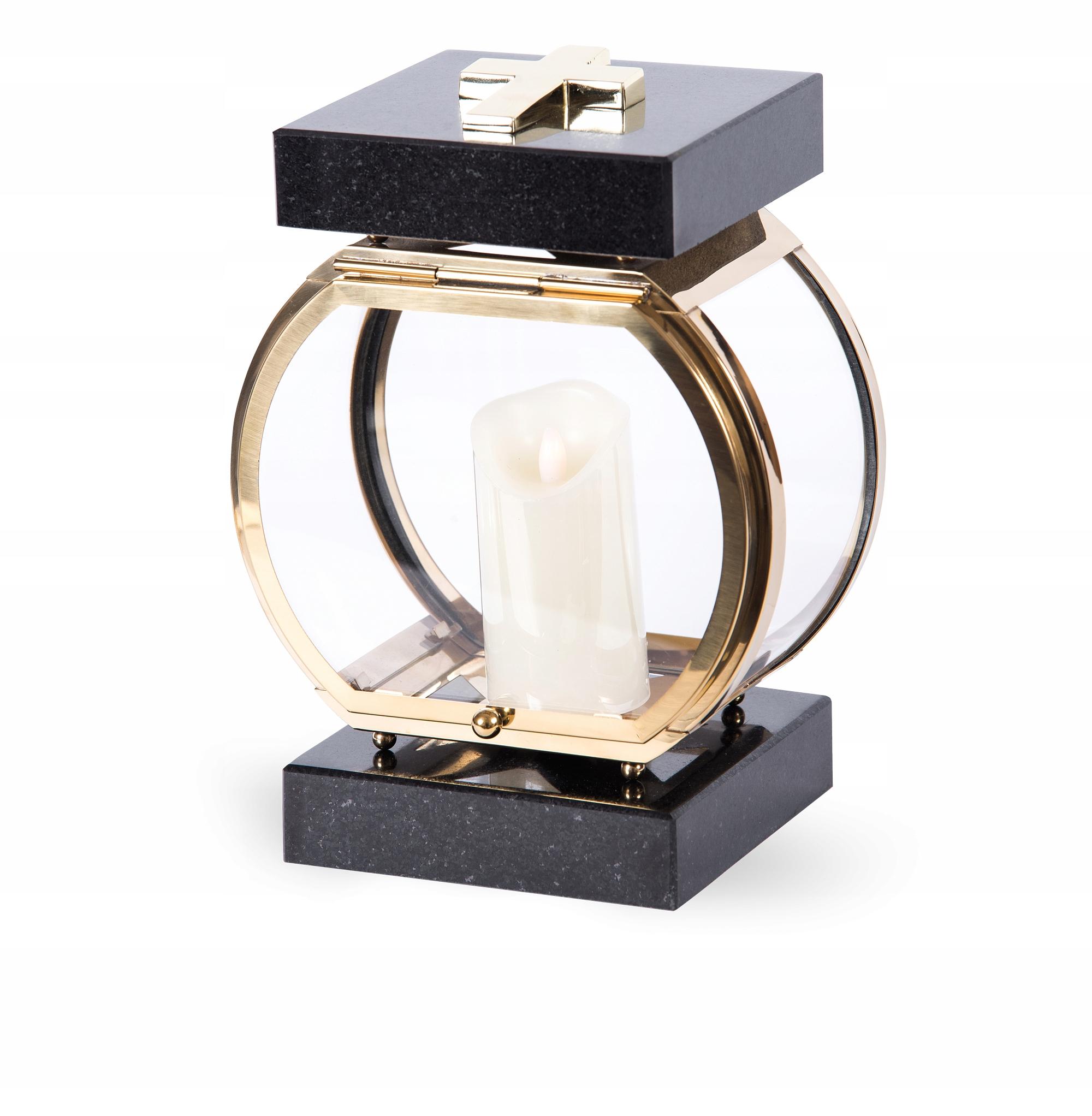 Гибрид Tombstone Lantern, золото, нержавеющая сталь + гранит