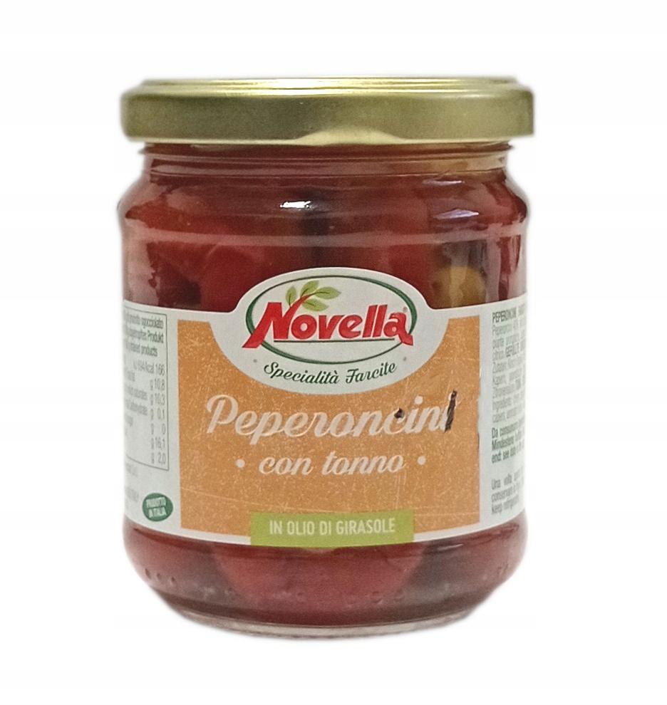 Novella Peperoncini Tonno papryczki z tuńczykiem