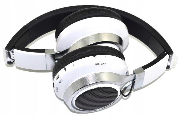 TRÅDLØSE HØRTELEFONER BELYSET MED FM MP3 RADIO Material plast