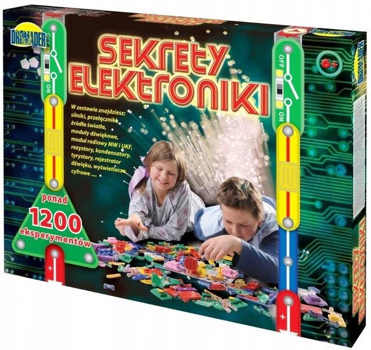 TAJOMSTVO ELEKTRONIKY 1200 EXPERIMENTOV ZD-9537 HIT