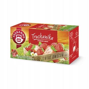 Фруктовый чай TEEKANNE Strawberry Fruit World