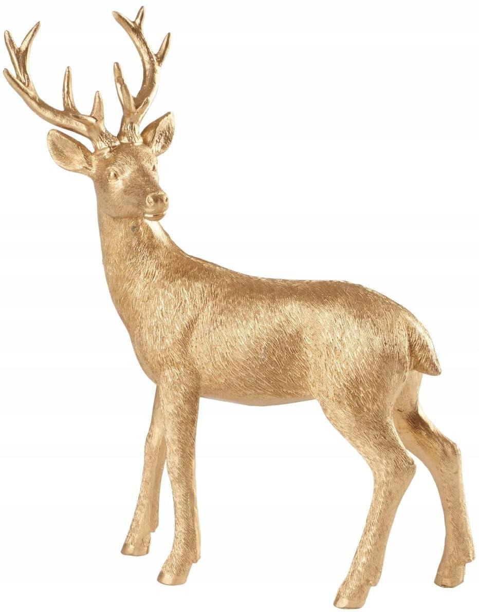 Фигурка золотого оленя 22 см от Villeroy & Boch # A75