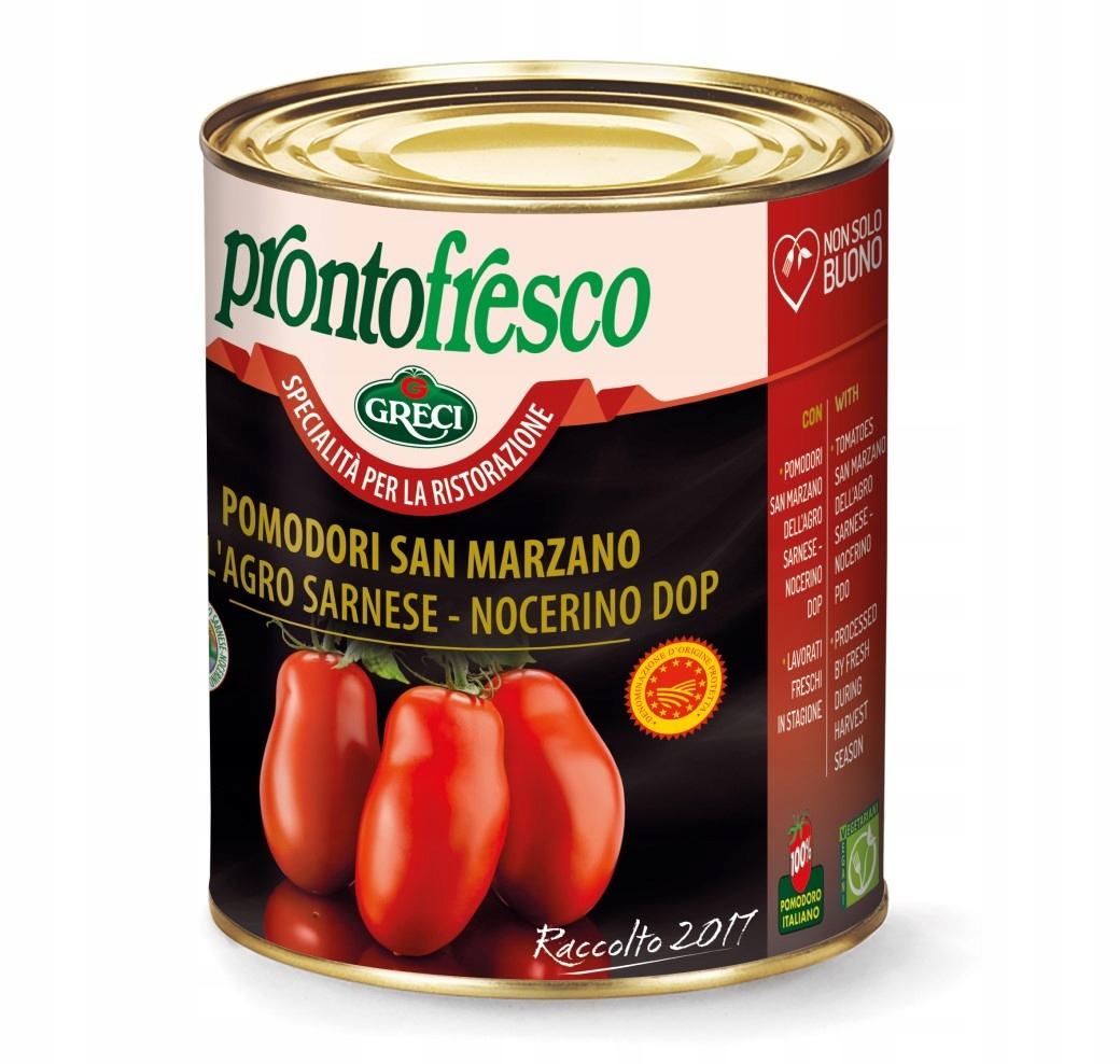 Pomidory SAN MARZANO DOP Prontofresco Włoskie 800g