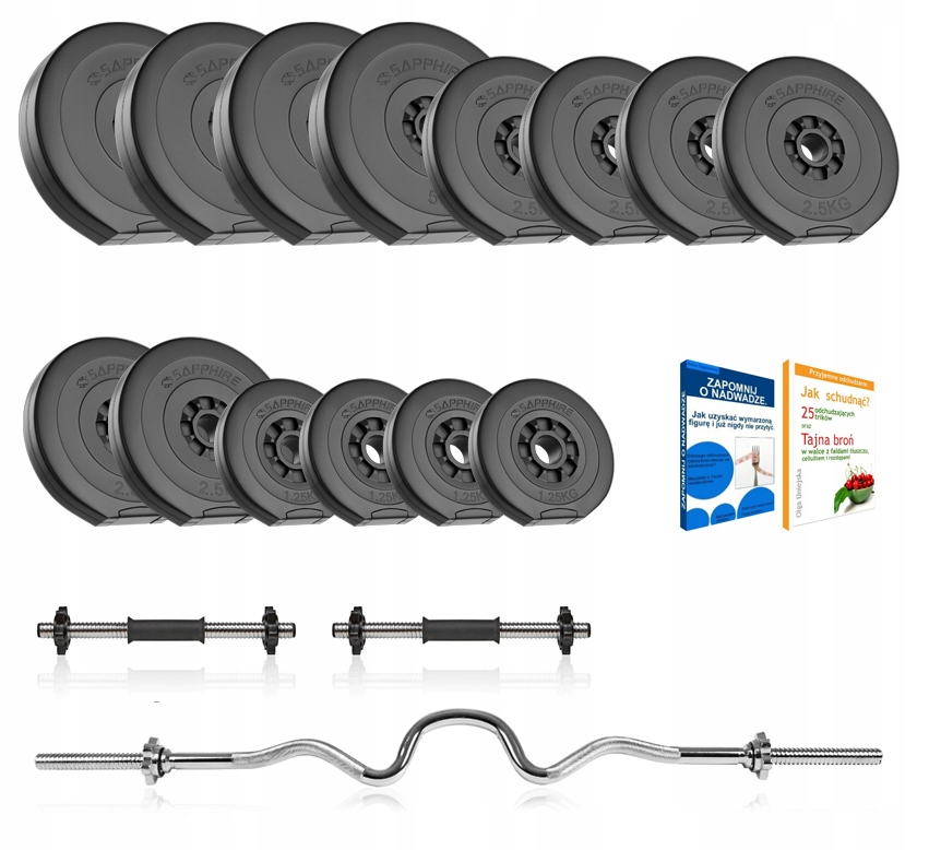 Sapphire 47 Barbells, Griffin, Load