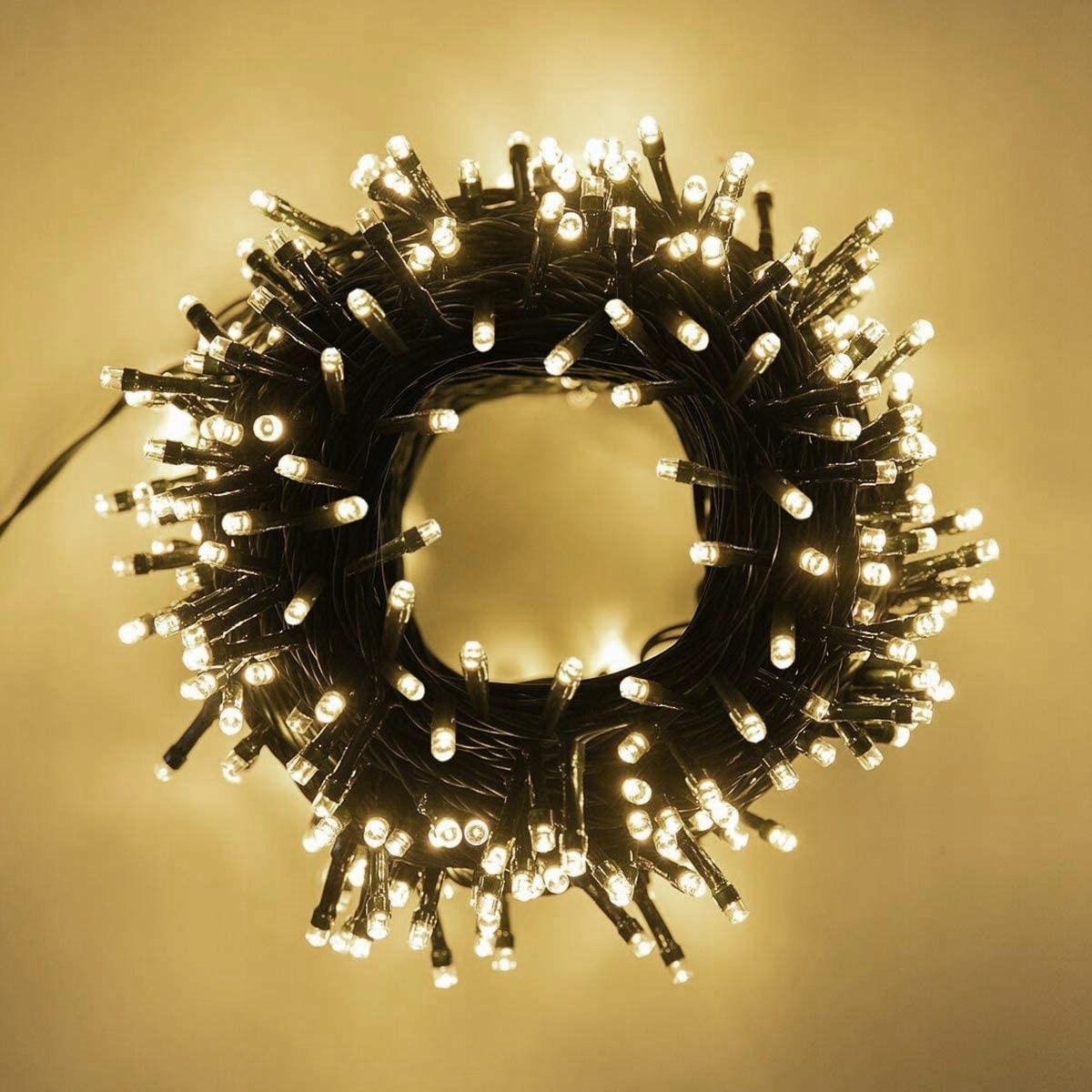 ДЕРЕВІ ЛАМПИ 500 світлодіодних зовнішніх товстих спалахів Колір лампи різний
