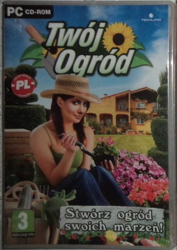 Vaša záhradná hra - fólia, retro, TECHLAND