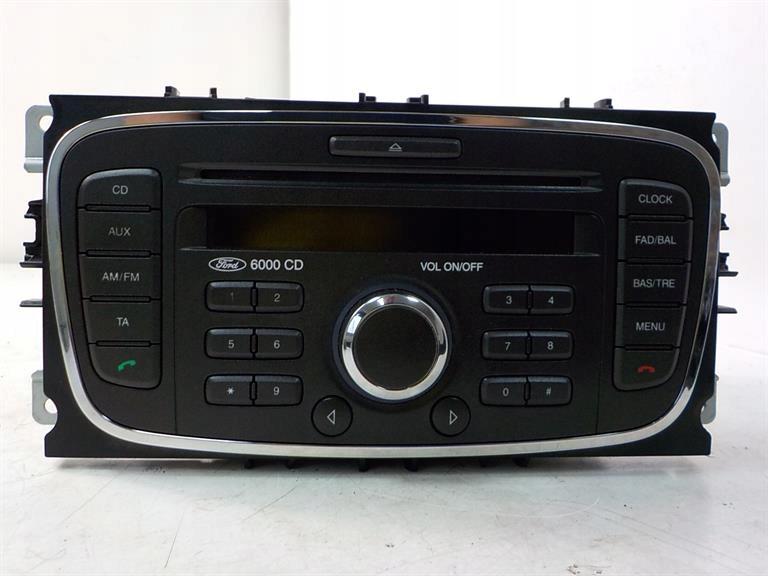mondeo mk4 focus mk2 connect радио 6000cd z кодом