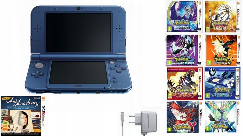 Nový Nintendo 3DS XL + Pokemon Záruka 12 MC