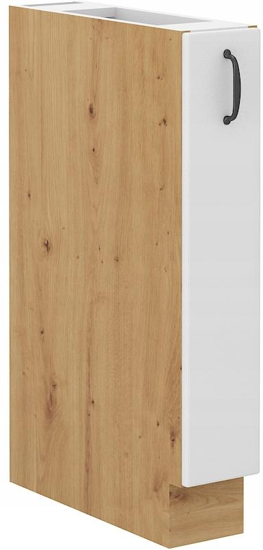 kuchynská skrinka 15 cm CARGO remeselník + biela RETRO