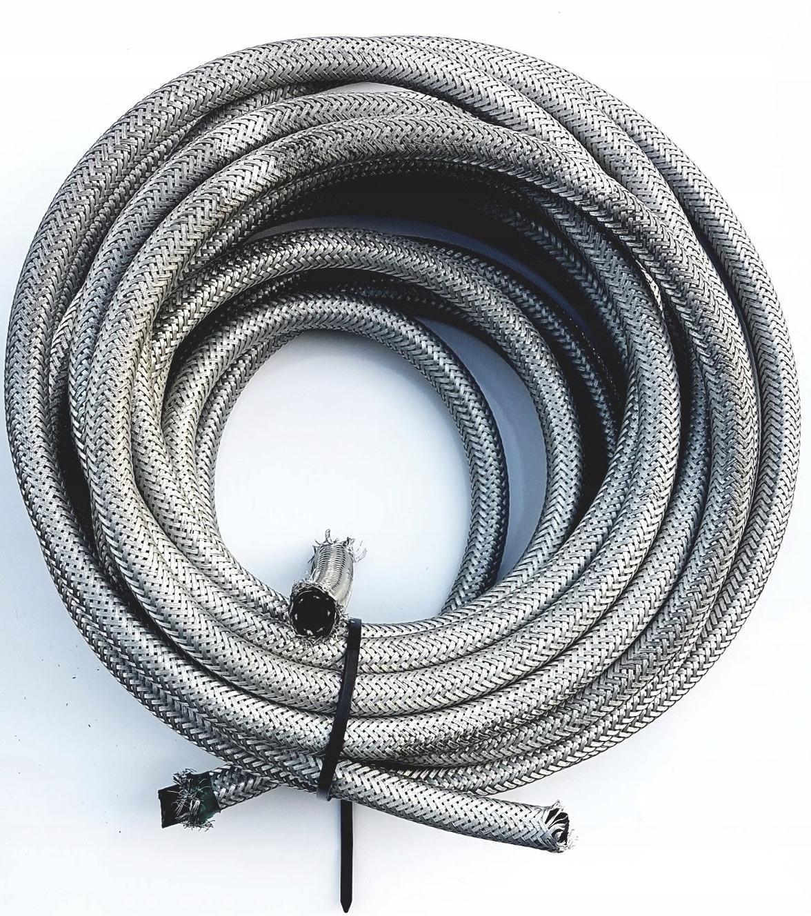 кабель топлива армированный 8mm w оплетке стальной