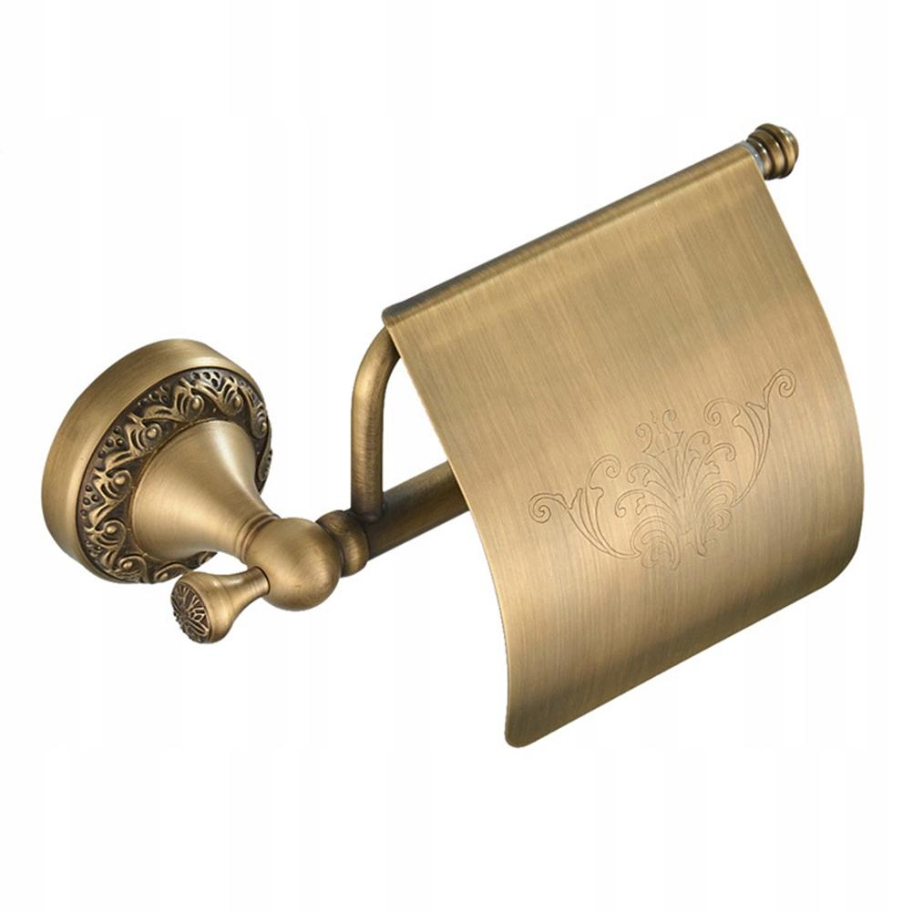 Európsky retro držiak na toaletný papier Akceso