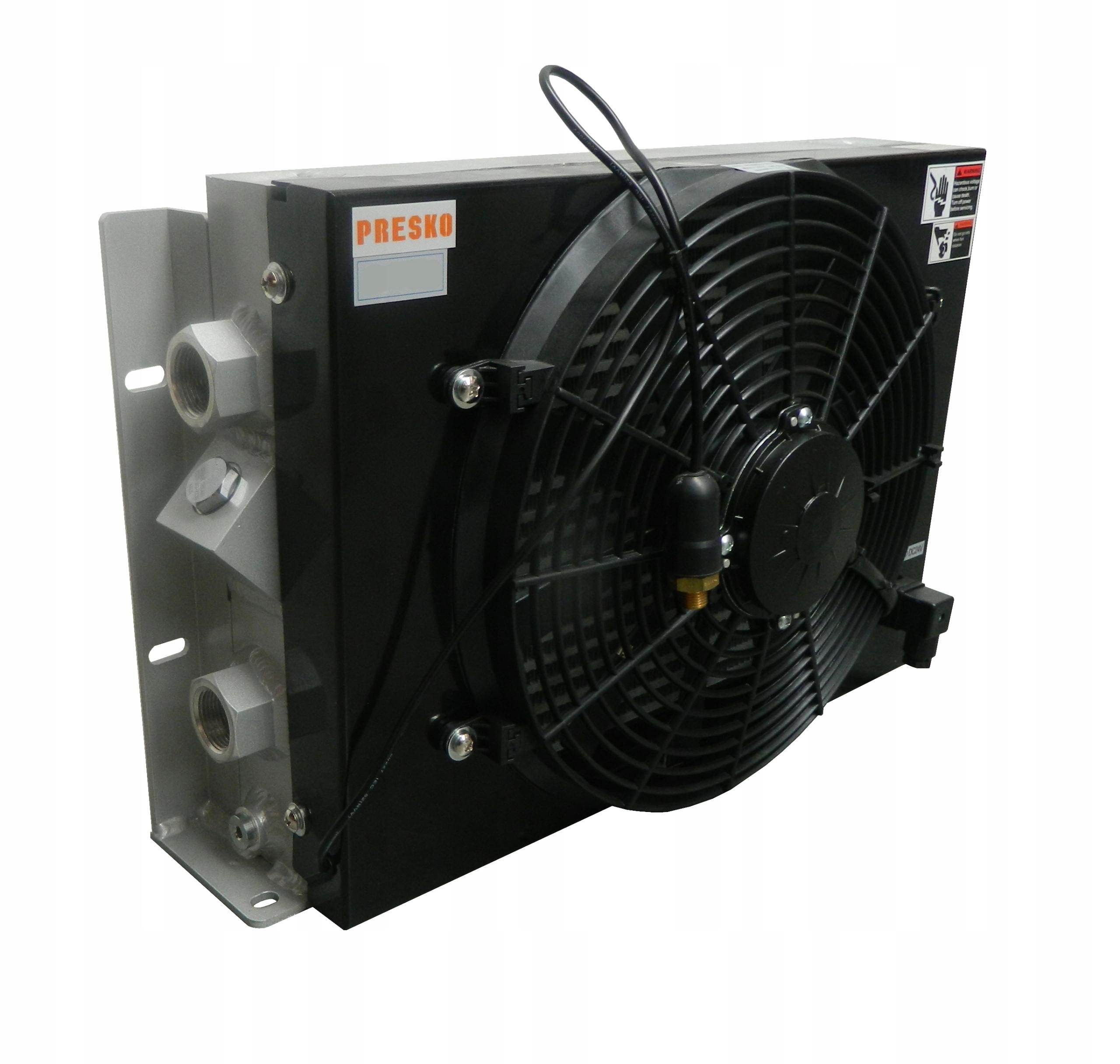 Chłodnica oleju hydraulicznego 250L/min DC24V