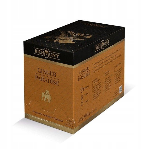 Bylinný čaj Richmont zázvor Raj - 50x6g