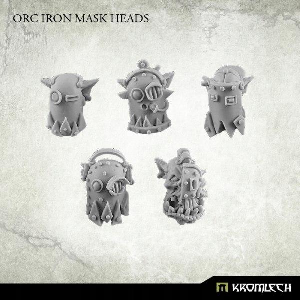 Купить Orc Iron Mask Heads - 10 szt. ork orki на Otpravka - цены и фото - доставка из Польши и стран Европы в Украину.