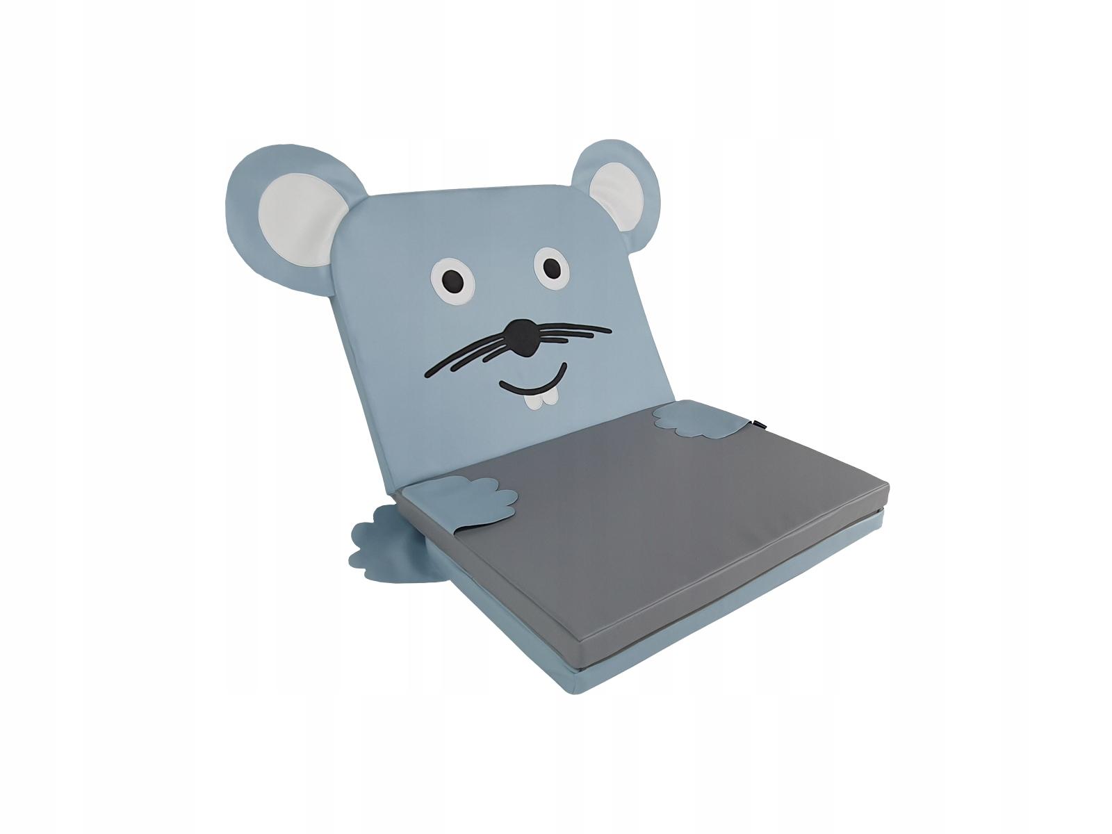 Materac 3-częściowy Myszka