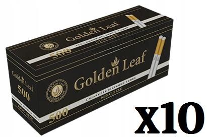 Наперстки для сигарет Golden Leaf 5000 штук (10x500)