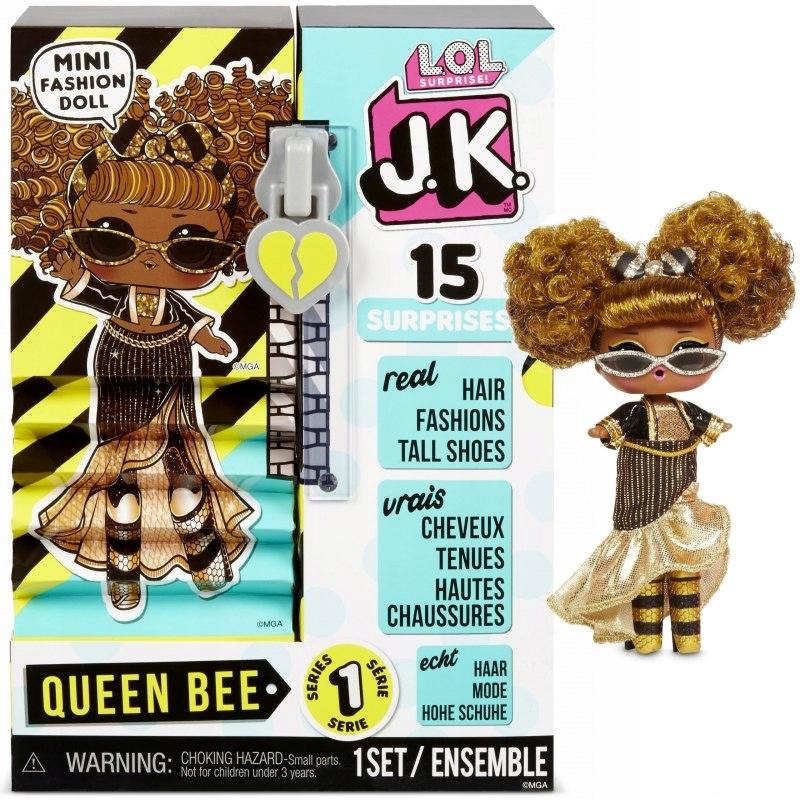 j8k L.O.L. Prekvapenie J.K. Bábika - bábika Queen Bee