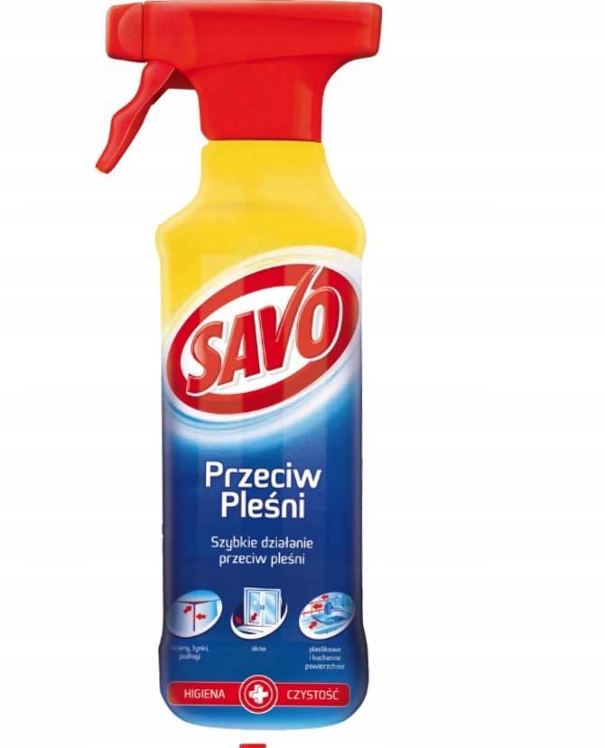Savo Spray Czyszczenia na Pleśń Grzyby Spray 500ml
