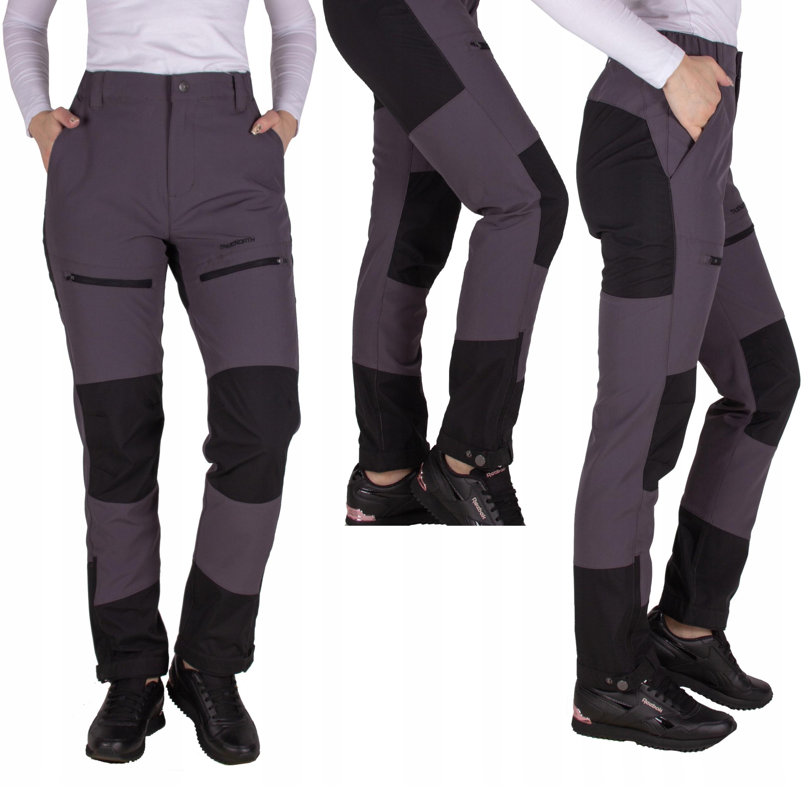 spodnie damskie TREKKINGOWE turystyczne STRECZ XL