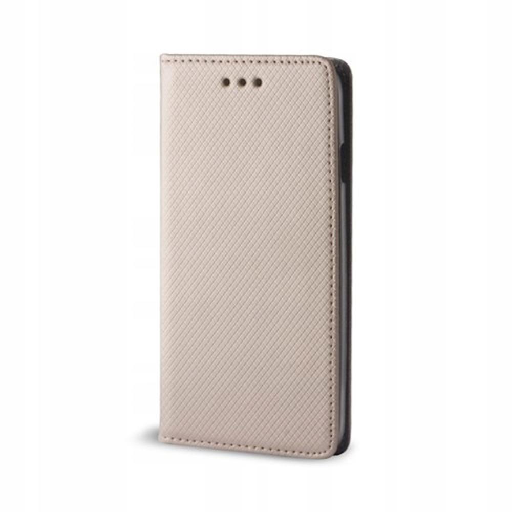 Pokrowiec Smart Magnet Motorola Motorola G7 złoty