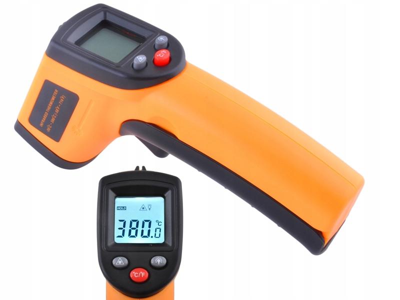 Brezkontaktni infrardeči pirometer Ukrep -50 +380