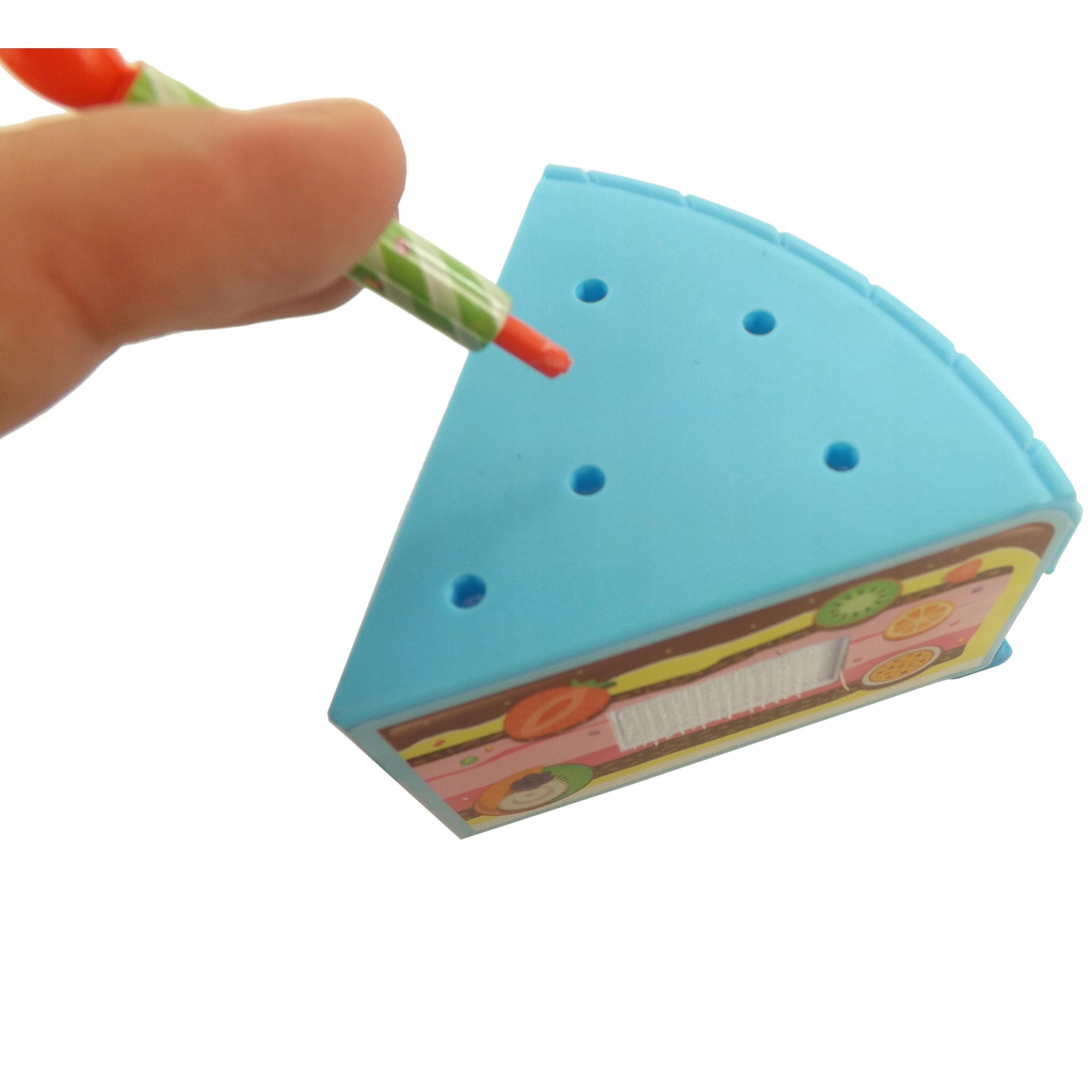 TORT URODZINOWY DO KROJENIA NA RZEPY 80 EL WD-I58N Materiał Plastik