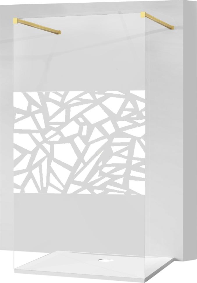 MEXEN KIOTO SPRCHOVÁ STENA 110x200 8mm sklo