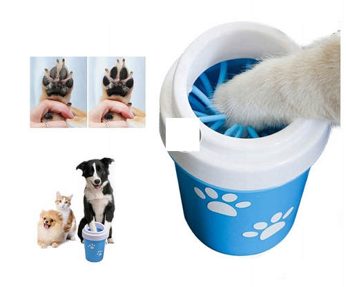 Zariadenie na čistenie psie labky mačka
