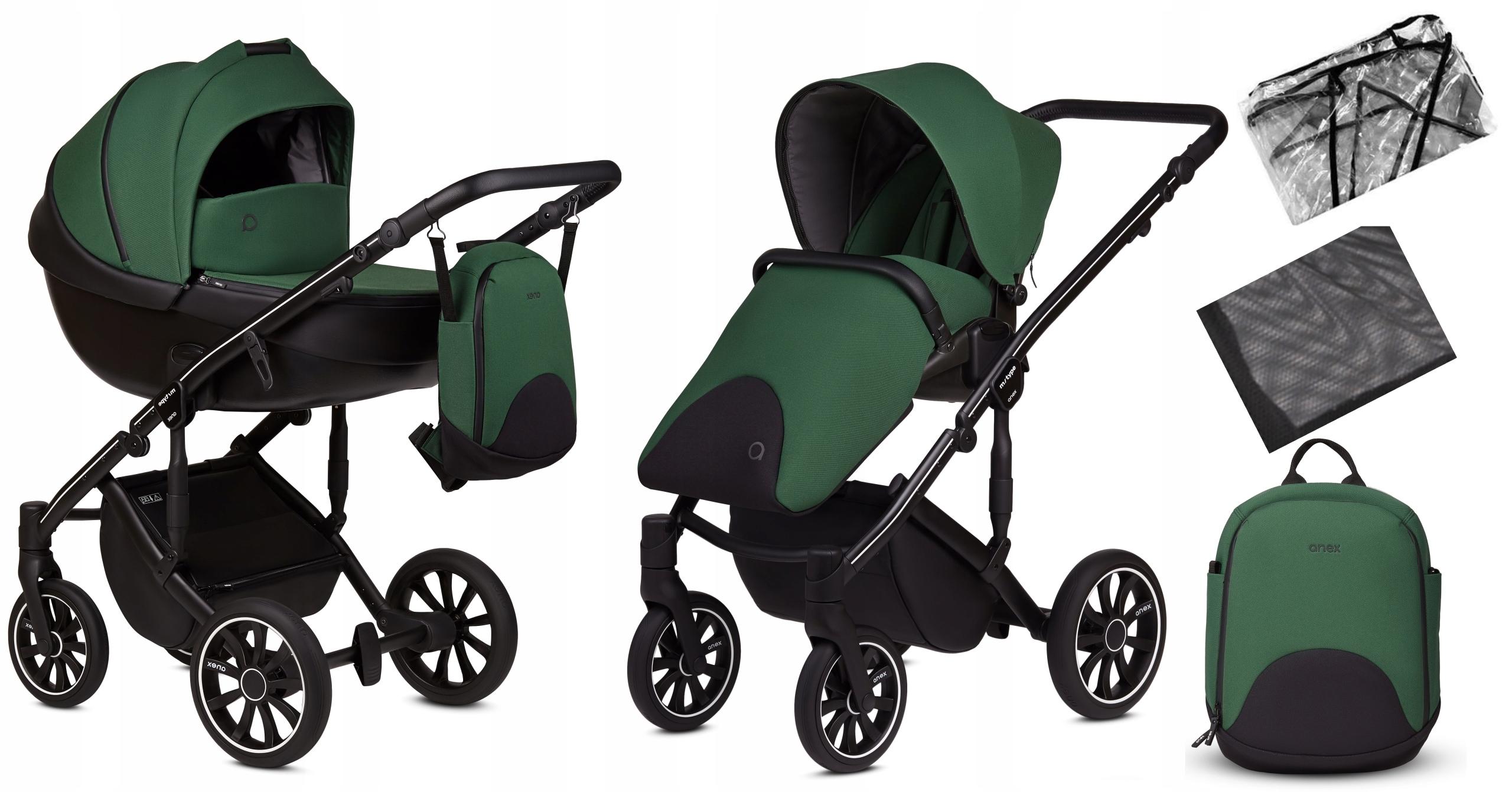 ANEX wózek wielofunkcyjny 2w1 M/TYPE LIME 9343409187 - Allegro.pl