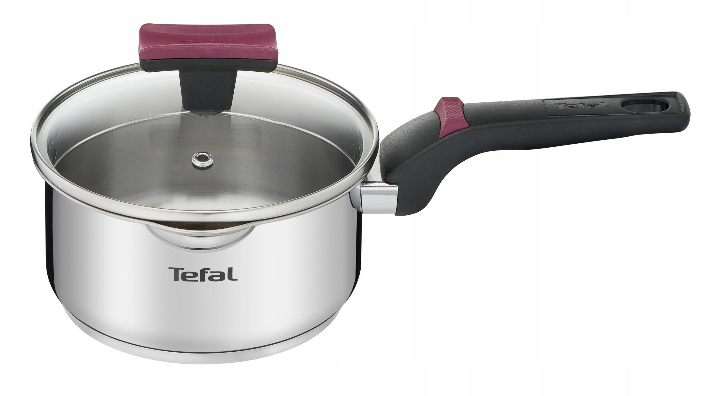 Кастрюля с крышкой TEFAL Cook & Clip 16см G7232274