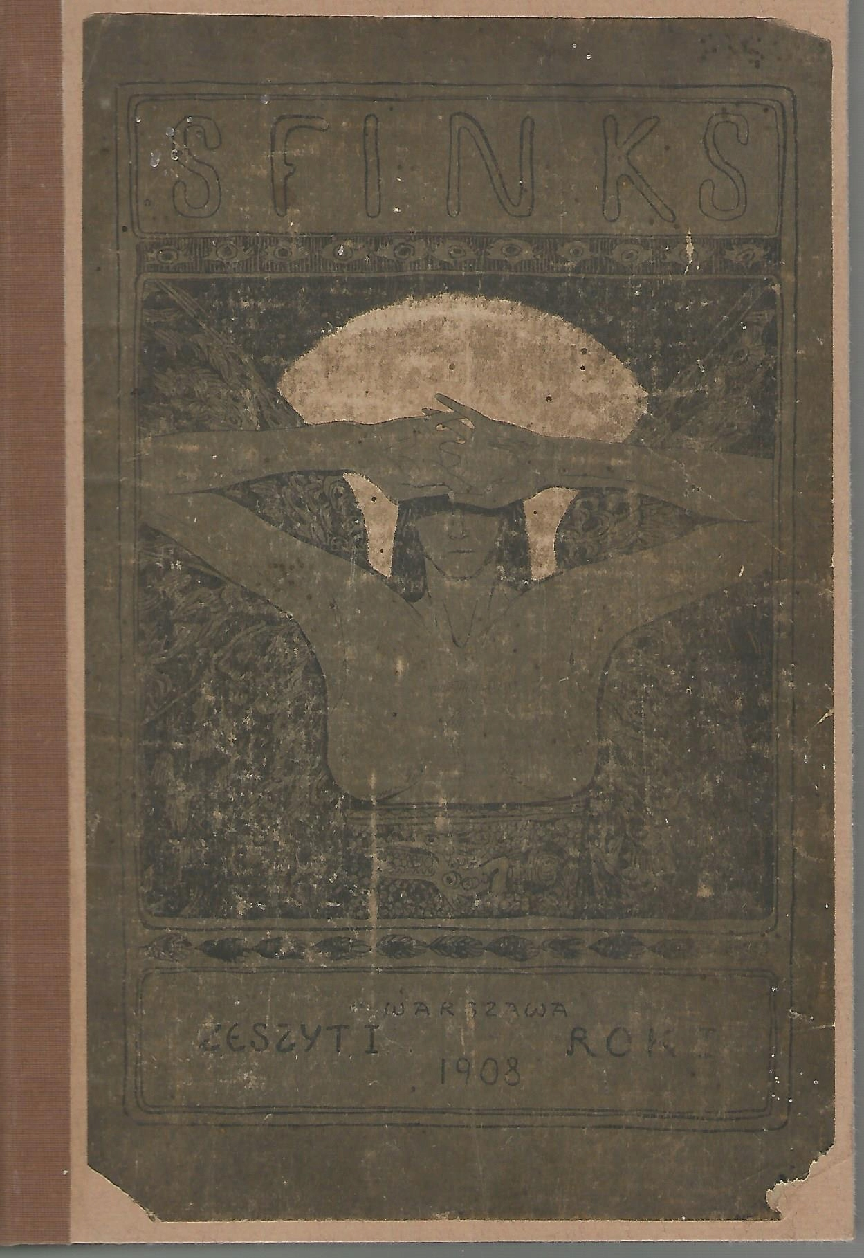 Item THE SPHINX MAGAZINE LITERARY, VOLUME 1 1908