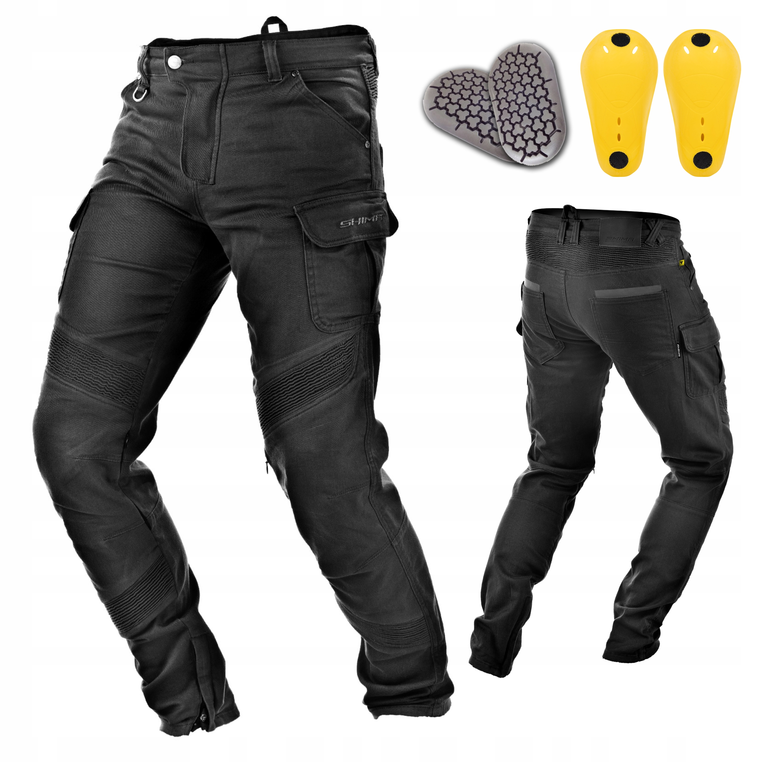 SHIMA GIRO spodnie motocyklowe bojówki +GRATISY