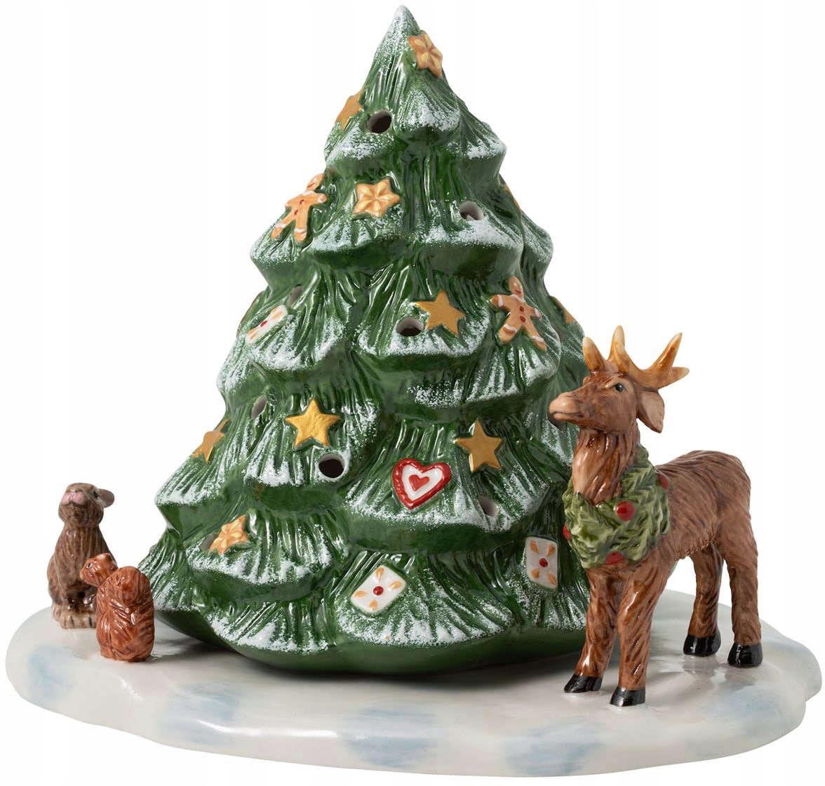 Lucerna vianočný stromček zvieratá Vianočné hračky Villeroy