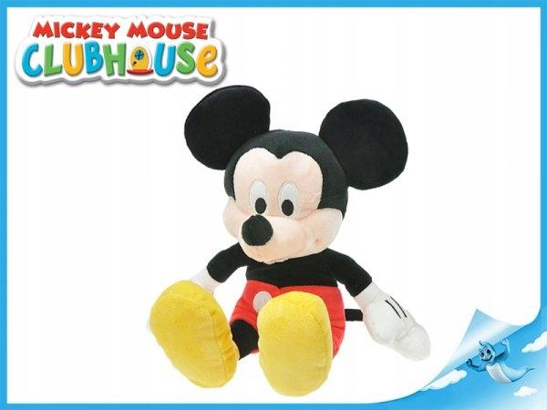 PLUSH MOUSE MIKCEY sľuda 30 CM. Plyšová hračka DISNEY
