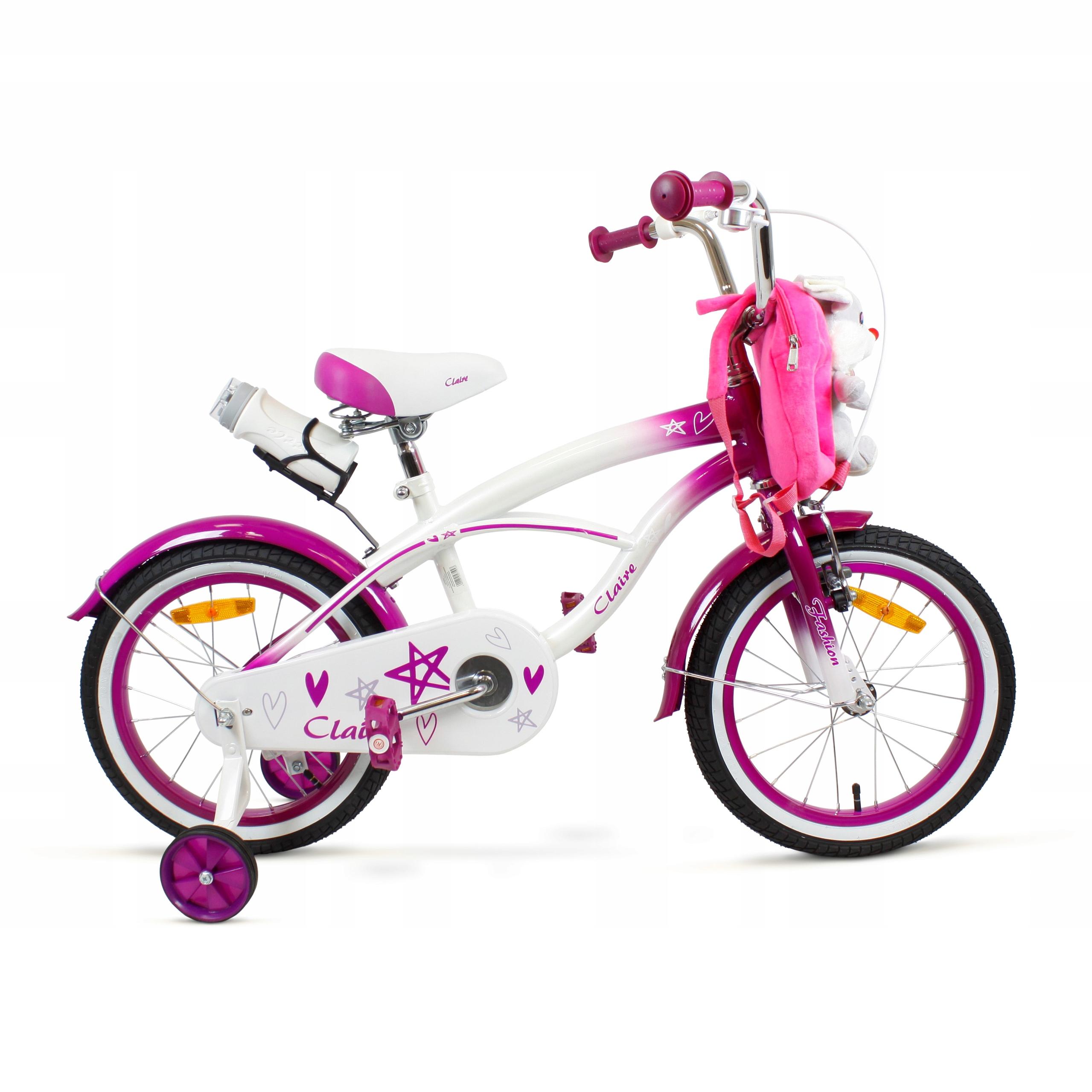 Rowerek Dzieciecy Dla Dziewczynki 16 Cali Koszyk 9222149170 Allegro Pl